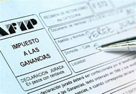 la afip posterg los vencimientos de ganancias y bienes afip redujo impuesto a las ganancias para los contratos de