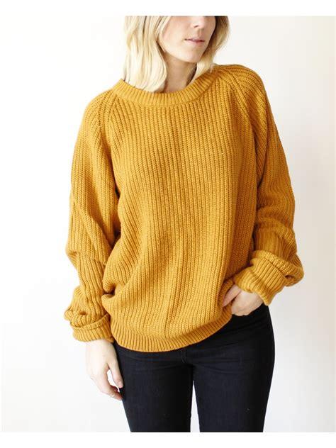 The Yellow Sweater mustard yellow sweaters