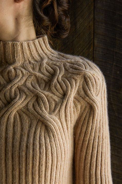 yoke knitting pattern botanical yoke pullover purl soho purl soho knitting