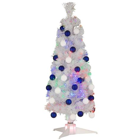 fiber optic tree 3 ft national tree company 3 ft white fiber optic fireworks