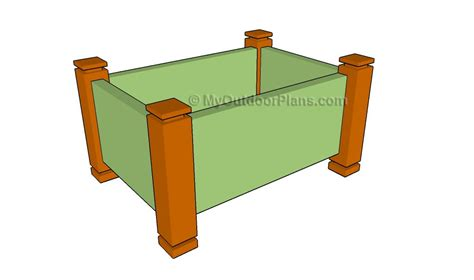 Plans To Build A Planter Box by Herb Planter Box Plans Myoutdoorplans Free Woodworking