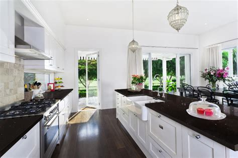 black quartz countertops sparkling black quartz kitchen materials q premium