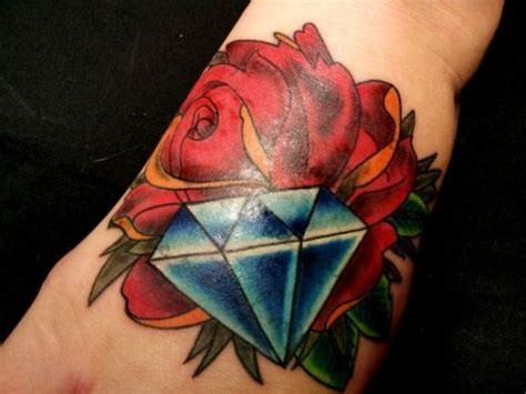 diamond tattoo crismon 51 inspiring diamond tattoo designs amazing tattoo ideas