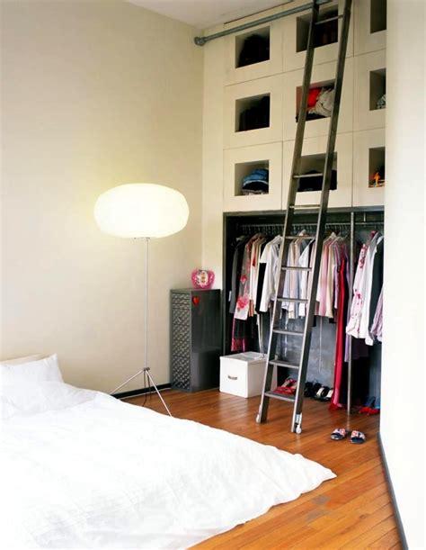 closet wall  ladder interior design ideas