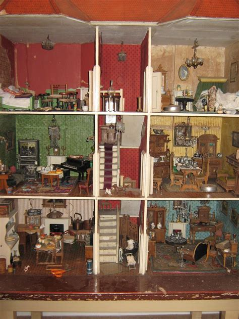dolls houses past and present no 21 c1890 dolls houses past present