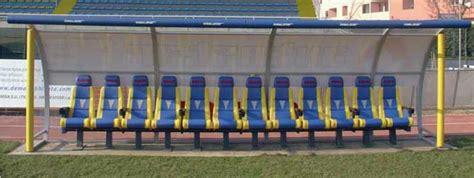 panchina da calcio panchina allenatori calcio da 20 e 24 sedili sport