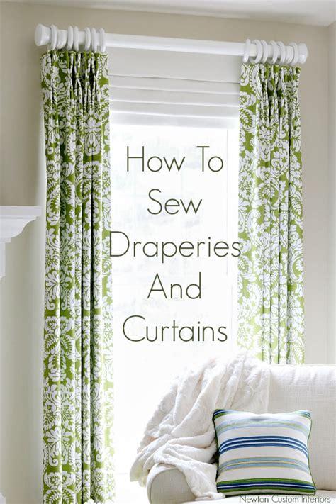 how to sew draperies how to sew draperies curtains kim s upholstery