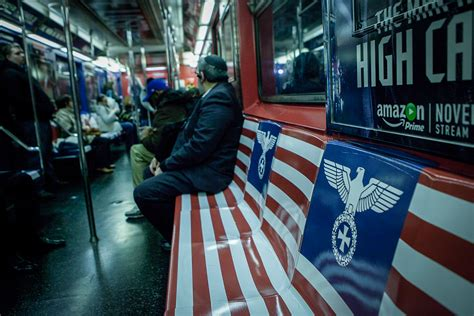 jewish benching new york amazon promotion covers nyc subway in nazi