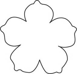 big flower template printable 25 best ideas about flower template on paper