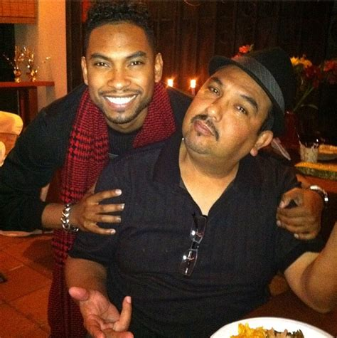 miguel pimentel brother singer miguel father above is mexican mother is black