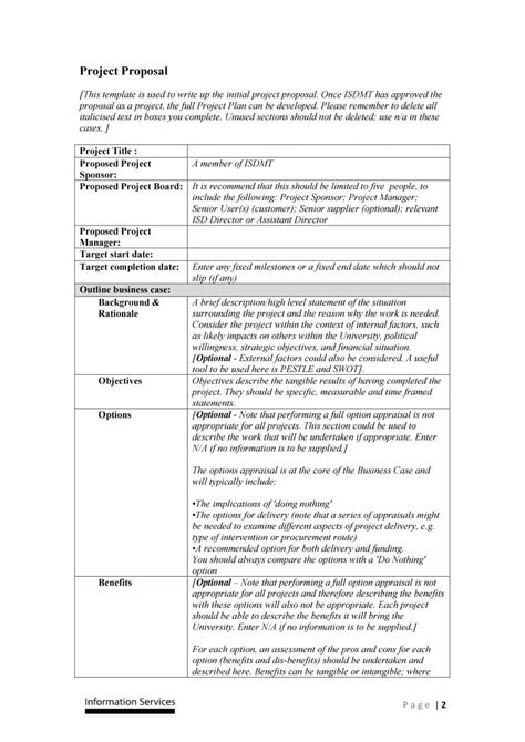 project proposal layout sle professional project writing service 28 images project
