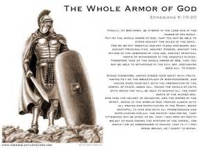 Put on armor of god verses how to arise out of the pit
