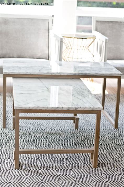 Diy Marble Coffee Table 25 Best Ideas About Marble Top Table On Pinterest Gold Nightstand Ikea Table And Ikea Table Hack