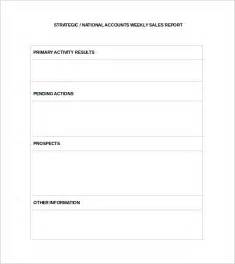 Sales Template Doc sle sales report template 13 free documents