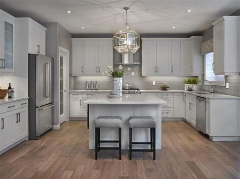 white and gray kitchen cabinets 25 best grey kitchen floor ideas on pinterest grey