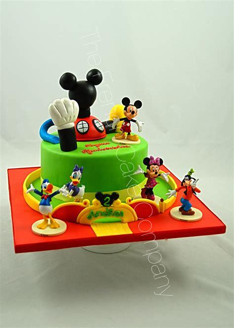 Gateau Decore by G 226 Teau D Anniversaire D 233 Cor 233 La Maison De Mickey Cake