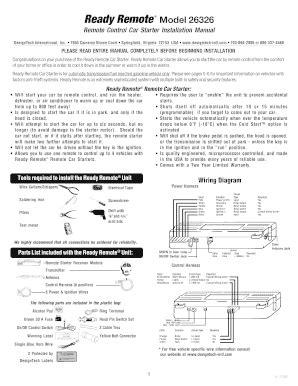 Design Tech Remote Starter Wiring Diagram - Wiring Diagram