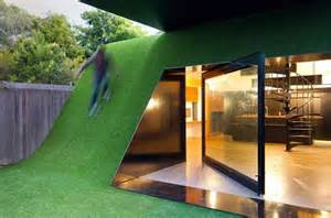 green small house design by andrew maynard architects