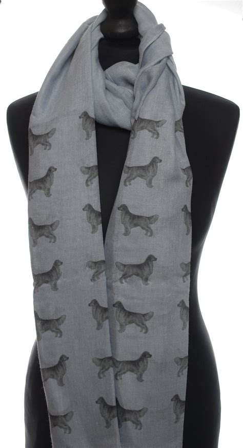 golden retriever shop golden retriever printed fashion scarf exhibitor