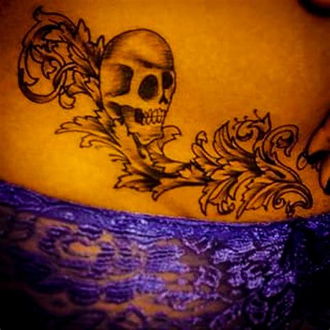 pelvic tattoo designs pelvic tattoos