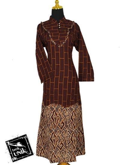 Batik Gamis Sarimbit Barong Model V Keluarga Pekalongan Baju Batik Sarimbit Keluarga Motif Cap Tumpal Sarimbit