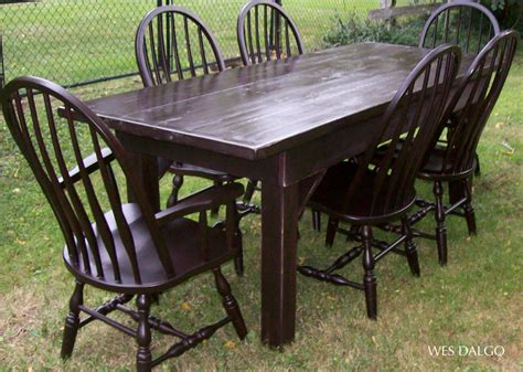 Antique Farmhouse Table Chairs Dining Room Furniture Dining Room Improvisation Using Charming Farmhouse Table