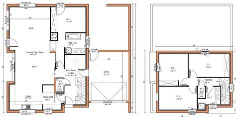plan maison à étage 3 chambres plan maison 201 tage 4 chambres avie home
