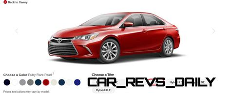 2015 camry colors 2015 toyota camry xle colors 23