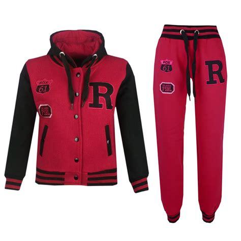 Hoodiejaket Sweater Fox boys baseball tracksuit nyc fox jacket trouser hoddie bottom joggers ebay