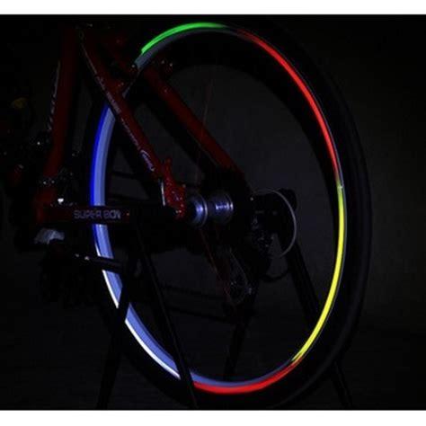 Bicycle Wheel Reflective Sticker Stiker Roda Sepeda 8 bicycle wheel reflective sticker stiker roda sepeda 8 blue jakartanotebook