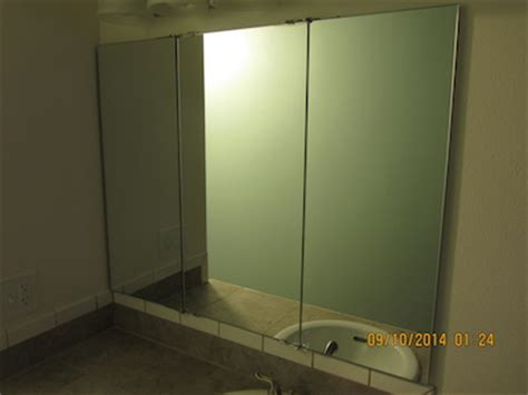 tri fold bathroom vanity mirrors trifold vanity and wardrobe mirrors