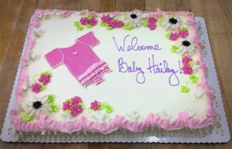 baby shower sheet cakes for baby shower sheet cake with onesie trefzger s bakery