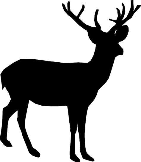 deer stand coloring pages free vector graphic deer animal antler stand free