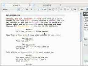 celtx free screenwriting software tutorials format your