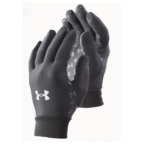 under armoir gloves under armour 174 liner glove black 209507 hats caps at