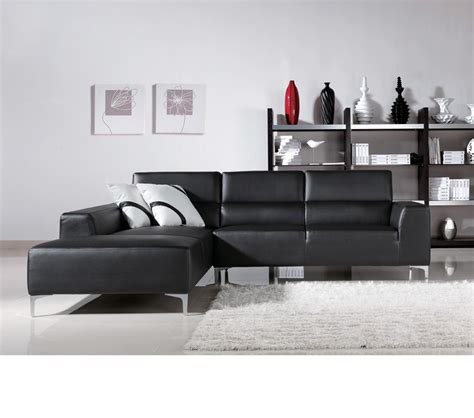 black l shaped sofa dreamfurniture com black l shape sectional sofa