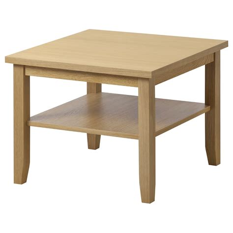 what to put on coffee tables skoghall coffee table oak 55x55 cm ikea