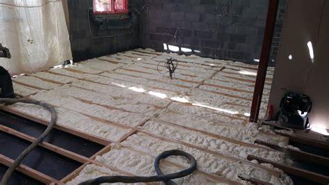floor insulation experts spray foam services