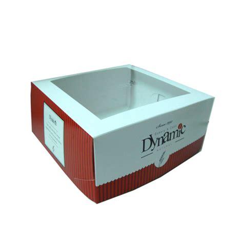 Box Cake Kotak Kue Kardus Packing Makanan Ulang Tahun Snack Roti Bread packaging makanan