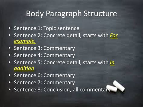 essay structure sentence by sentence breakdown of good essay ppt video online download