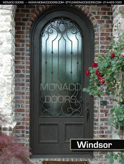 Iron Gates For Front Doors Exterior Wrought Iron Doors Monaco Doors