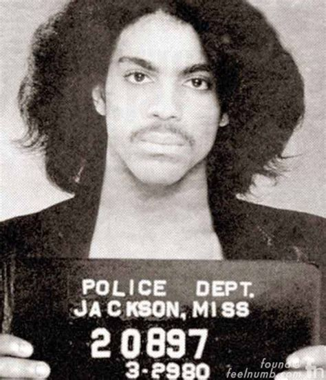 Jackson Ms Arrest Records The Infamous Prince Mugshot After Mississippi Arrest In 1980 Feelnumb