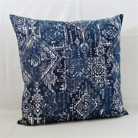 Navy Blue Accent Pillow by Navy Blue Throw Pillow Cover Geometric Decorative Accent