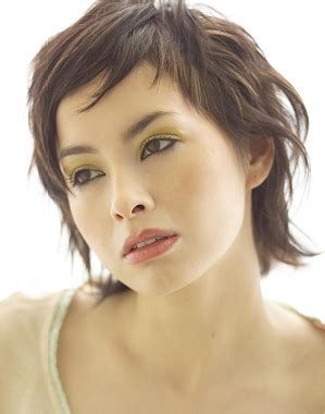 aveda short hair cuts a short black hairstyle from the aveda collection no 7092