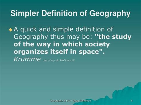pattern geography definition ppt economic geography an introduction powerpoint