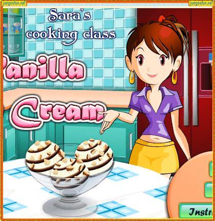 juegos de cocina para hacer helados juegos de cocina con sara helados