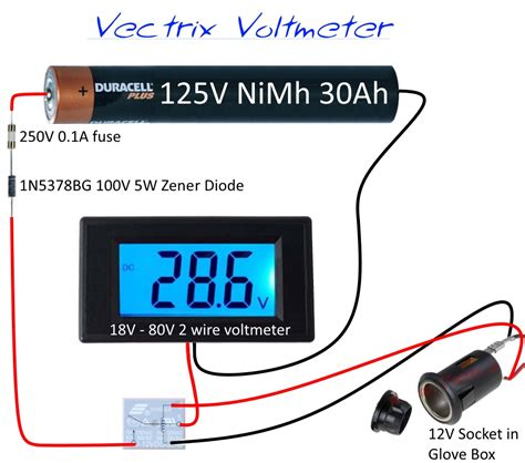 basic motorcycle wiring diagram voltmeter wiring diagram