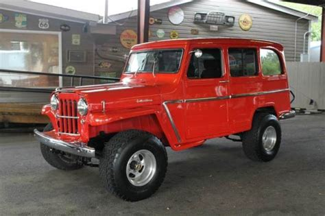 jeep wagon for sale 1963 willys wagon 4x4 restomod automatic a c v8 power