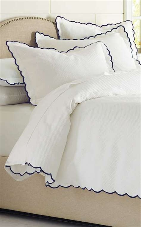 scalloped coverlet sleep bed covers and classic on pinterest