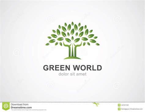 Ecology Logo Green Design Growth Illustration Vector Illustration Cartoondealer Com 43259218 Green Tree Vector Logo Design Garden Concept Eco Icon Stock Vector Illustration Of Concept